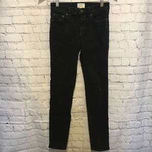 J Crew lookout high rise skinny corduroy pants 25